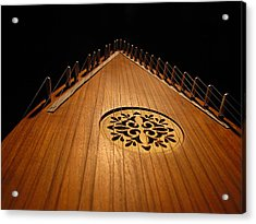 Bowed Psaltery Acrylic Print by Greg Simmons