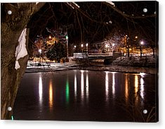 Bowring Park Acrylic Print by Darrell Young