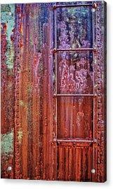 Boxcar Ladder Acrylic Print by Marcia Colelli