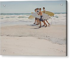 Boys Of Summer Acrylic Print by Christopher Reid
