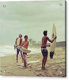 Boys Of Summer Acrylic Print by Laura Fasulo
