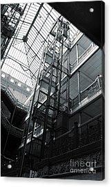 Bradbury Building Acrylic Print by Gregory Dyer