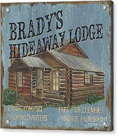 Brady's Hideaway Acrylic Print by Debbie DeWitt
