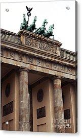 Brandenburg Gate Acrylic Print by John Rizzuto