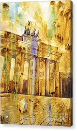Brandenburg Gate Acrylic Print by Ryan Fox