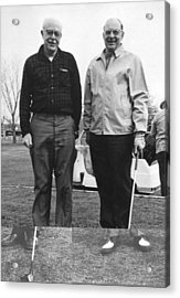 Brattain And Bardeen, Us Physicists Acrylic Print by Science Photo Library