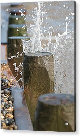 Breaking Point Acrylic Print by Paul Lilley