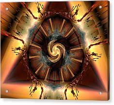 Breakout Acrylic Print by Claude McCoy