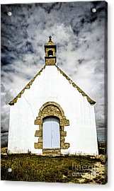 Breton Church Acrylic Print by Elena Elisseeva