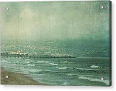 Brewing Storm Acrylic Print by Kim Hojnacki