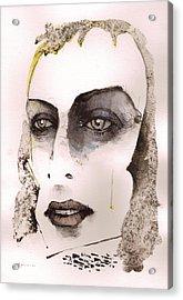 Brian Eno Acrylic Print by Mark M  Mellon