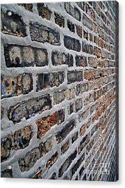 Brick Pattern-2 Acrylic Print by Gene Mark