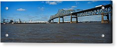 Bridge Across A River, Horace Wilkinson Acrylic Print by Panoramic Images