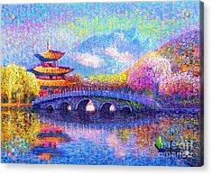 Bridge Of Dreams Acrylic Print by Jane Small