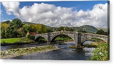 Bridge Of Swearing Acrylic Print by Adrian Evans