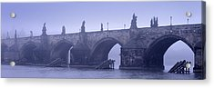 Bridge Over A River, Charles Bridge Acrylic Print by Panoramic Images