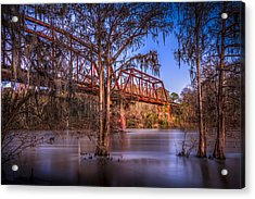 Bridge Over Trouble Water Acrylic Print by Marvin Spates