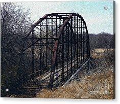Bridge To Nowhere Acrylic Print by R McLellan