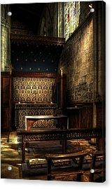 Bridlington Priory Acrylic Print by Svetlana Sewell