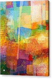 Bright Mood Acrylic Print by Lutz Baar