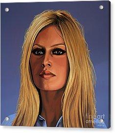 Brigitte Bardot Painting Acrylic Print by Paul Meijering