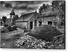 British Mine Acrylic Print by Adrian Evans