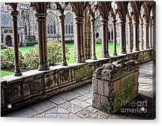 Brittany Cloister  Acrylic Print by Olivier Le Queinec