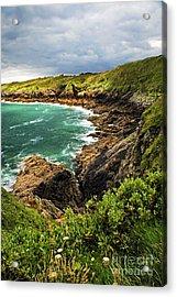 Brittany Coast Acrylic Print by Elena Elisseeva