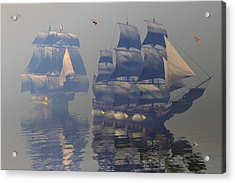 Broadsides Acrylic Print by Claude McCoy
