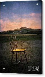Broken Chair Acrylic Print by Svetlana Sewell