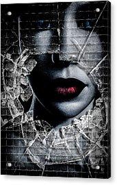 Broken Window Acrylic Print by Bob Orsillo