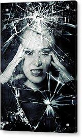 Broken Window Acrylic Print by Joana Kruse
