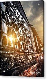 Broken Windows Acrylic Print by Carlos Caetano