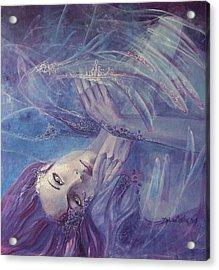 Broken Wings Acrylic Print by Dorina  Costras