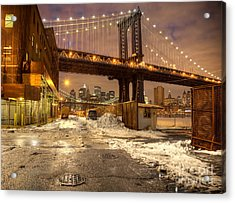Brooklyn Acrylic Print by Denis Tangney Jr