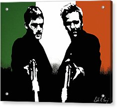 Brothers Killers And Saints Acrylic Print by Dale Loos Jr