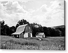 Brown County Barn II Acrylic Print by Off The Beaten Path Photography - Andrew Alexander