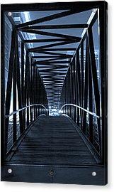 Brown's Island Bridge Acrylic Print by Brian Archer