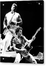 Bruce Springsteen 1985 16x20 Size Acrylic Print by Chris Walter
