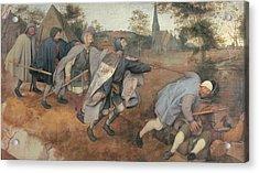 Bruegel Pieter Il Vecchio, Parable Acrylic Print by Everett