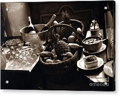 Brunch In The Loire Valley Acrylic Print by Madeline Ellis