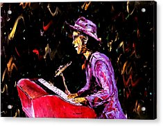 Bruno Mars  Acrylic Print by Mark Moore