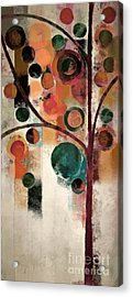 Bubble Tree - J08688 Acrylic Print by Variance Collections