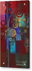 Bubble Tree - Rd01r Acrylic Print by Variance Collections