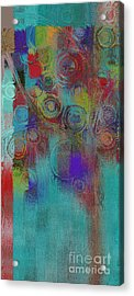 Bubble Tree - Sped09l Acrylic Print by Variance Collections