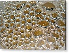 Bubbles Of Steam Metal Acrylic Print by Ausra Huntington nee Paulauskaite