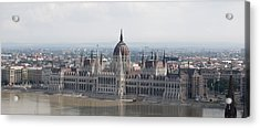 Budapest Acrylic Print by Gary Grayson