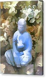 Buddha 3 Acrylic Print by Pamela Cooper
