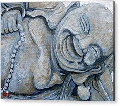 Buddha Bella Acrylic Print by Tom Roderick