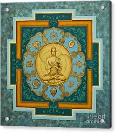 Buddha. Jewels Of Dharma Acrylic Print by Yuliya Glavnaya